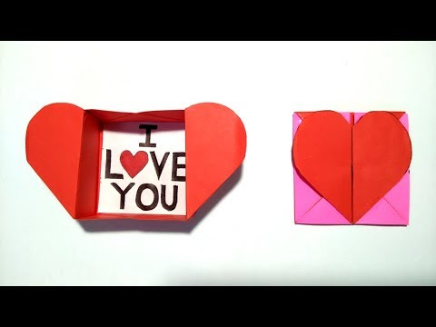 Origami: Heart Box & Envelope