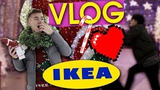 НОВОГОДНИЕ ПОКУПКИ В IKEA! // НОВОГОДНЯЯ РАСПАКОВКА! | HalBer