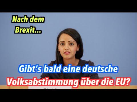 Brexit-Schock in der Bundesregierung: Gibt's bald auch eine Volksabstimmung in Deutschland?