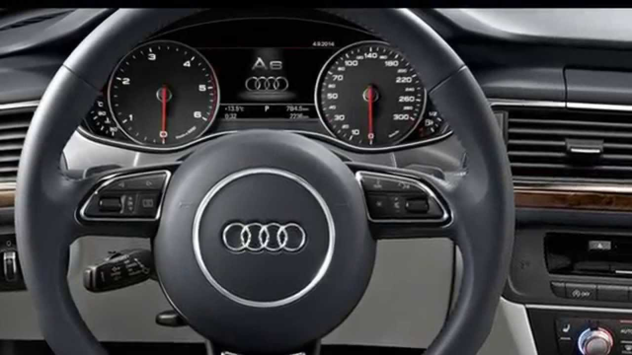 2016 Audi A6 - Interior (HD) - YouTube
