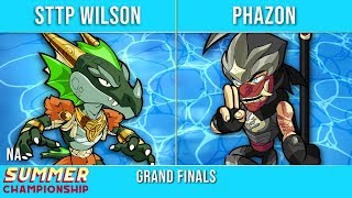 STTP Wilson vs Phazon - Grand Finals - Summer Championship NA Top 3
