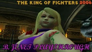 The King of Fighters 2006: B. Jenet Playthrough (PS2)