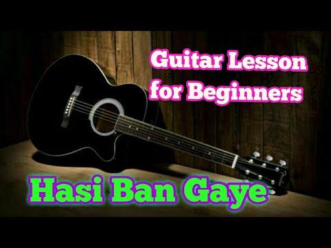 Hasi ban gye guitar lesson by abhishek srivastava.