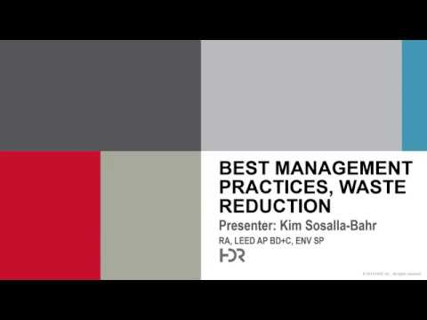 Best Management Practices for Offices featuring HDR