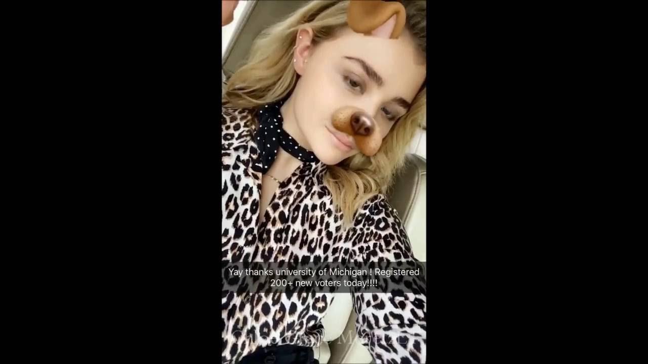 Snapchat Chloe Grace Moretz nude photos 2019