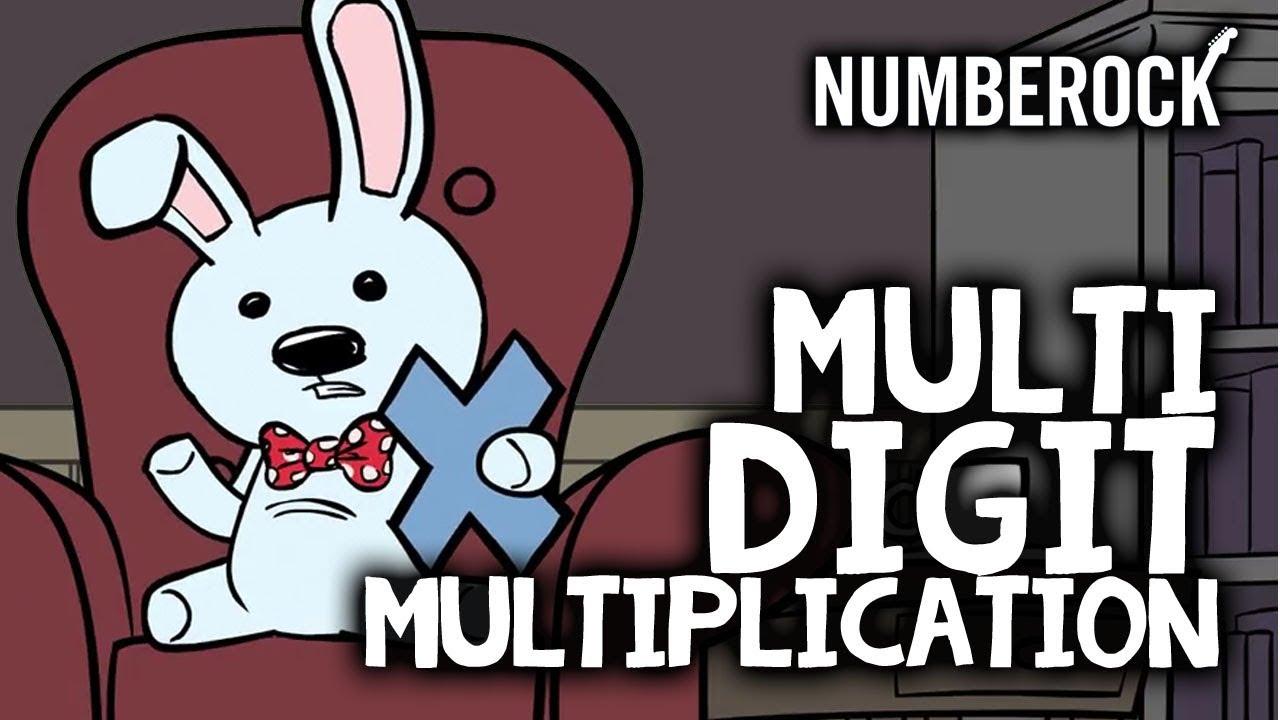 medium resolution of Long Multiplication Song   Multi-Digit Multiplication - YouTube