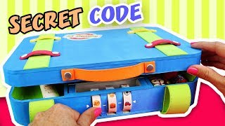 🥇 MAKE a GIFT with 𝙎𝙀𝘾𝙍𝙀𝙏 𝘾𝙊𝘿𝙀 to open it - Suitcase FATHER´S DAY 👉 aPasos Crafts DIY 👈