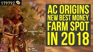 New Assassin's Creed Origins Money Farm Spot IS THE BEST (AC Origins Money Farm - AC Origins Farming