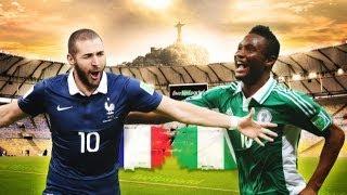 Fifa World Cup 2014 | France Vs Nigeria & Germany Vs Algeria