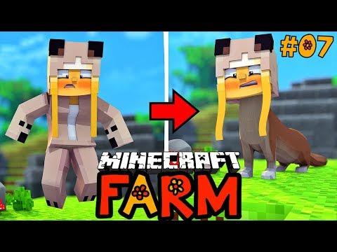 WIR VERWANDELN UNS FÜR 1 TAG IN EIN WIESEL! ✿ Minecraft FARM #07 [Deutsch/HD]