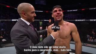 UFC Phoenix: Entrevista no Octógono com Vicente Luque e Bryan Barberena