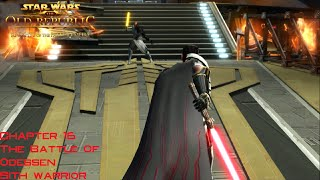 SWTOR KOTFE Chapter 16: The Battle of Odessen Sith Warrior