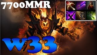 Dota 2 - w33 7700MMR Plays Shadow Fiend vol 3 Highlights - Ranked Match Gameplay