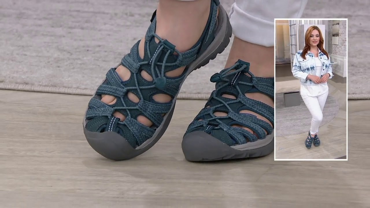 KEEN Lightweight Sports Sandals - Whisper on QVC