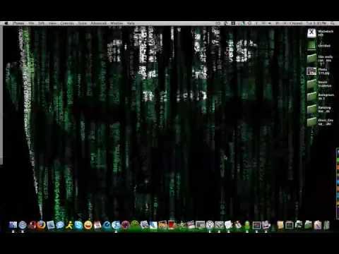 Matrix Screensaver Apple Mac