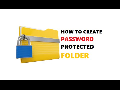 Windows 10 : How To Create Password Protect Folder | Without ...