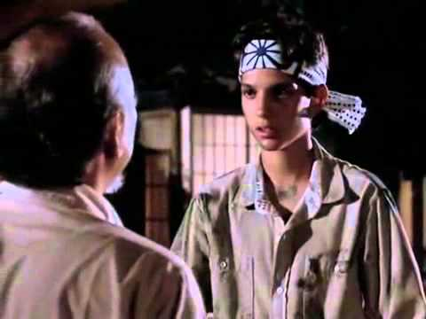 Karate Kid movie Mr. Miyagi Lessons now make sense