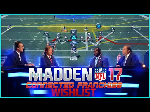 Madden NFL 17 Connected Franchise Wishlist | CFM Improvements, Features & Additions for Madden 17