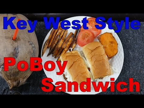 Catch And Cook - Key West Style PoBoy Sandwich - Lane Snapper
