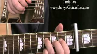 How To Play Janis Ian At Seventeen (intro only)