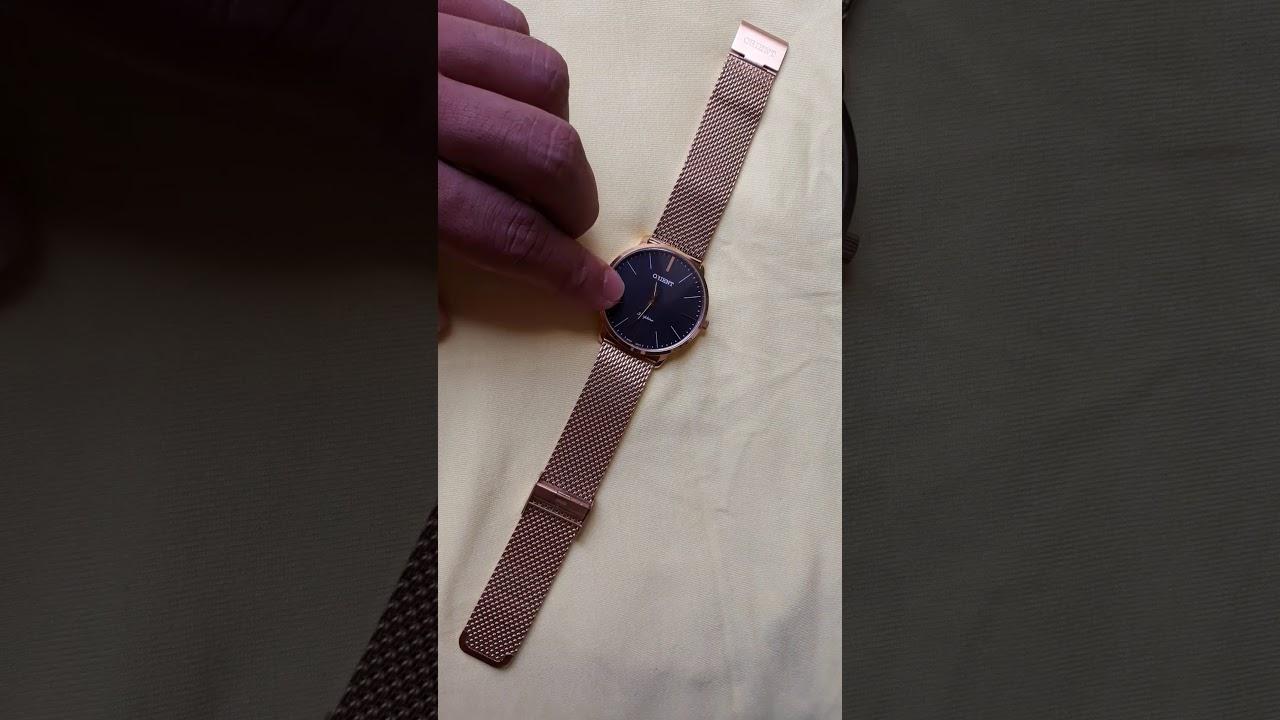 f62f2570274d0 Relógio Orient Sapphire Slim. (MGSSS005 P1KX). - YouTube