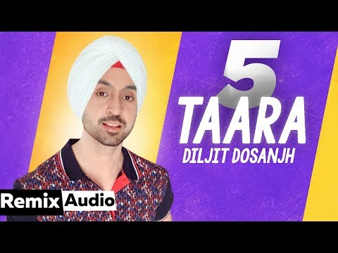 5 Taara (Audio Remix)   Diljit Dosanjh  Latest Punjabi Songs 2019   Speed Records