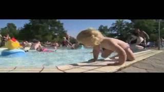 Poolbad på Lysingsbadet i Västervik