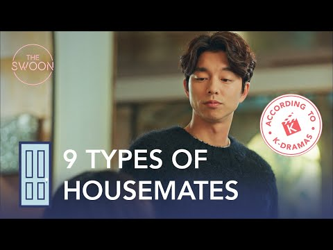 9 Types Of Housemates You Can't Live With Or Without | According To Korean Dramas [ENG SUB]