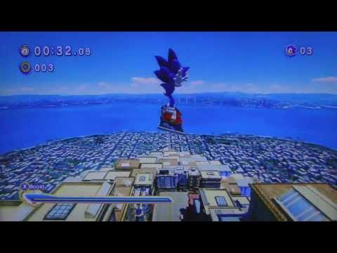 A moron tries to play Sonic Generations |