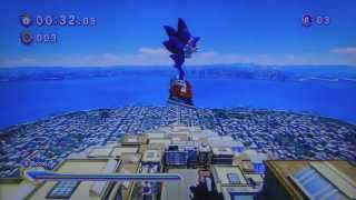 A moron tries to play Sonic Generations