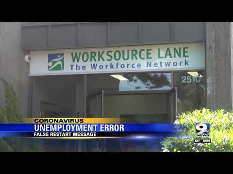 OREGON EMPLOYMENT DEPARTMENT SAYS 'RESTART CLAIM ISSUE' NOW