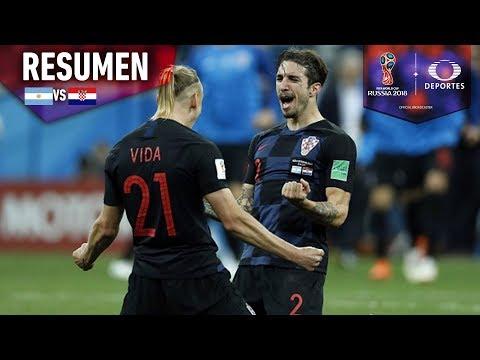 Croacia humilla a Argentina | Argentina 0-3 Croacia | Mundial Rusia 2018
