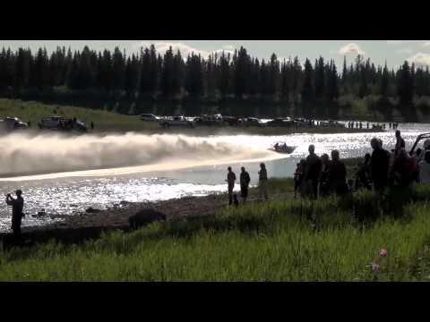 World Championship Jet Boat Races Hay River NT
