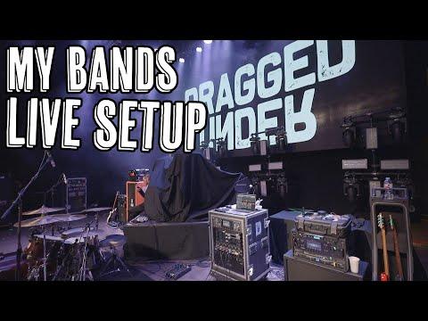 My Bands Live Setup - Dragged Under Live