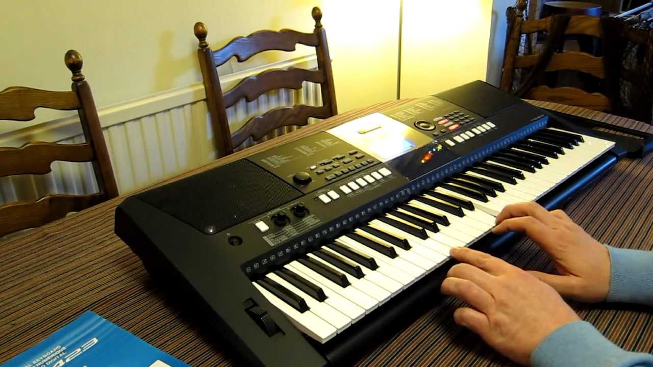 yamaha psr e423 digital keyboard hands on review usp. Black Bedroom Furniture Sets. Home Design Ideas
