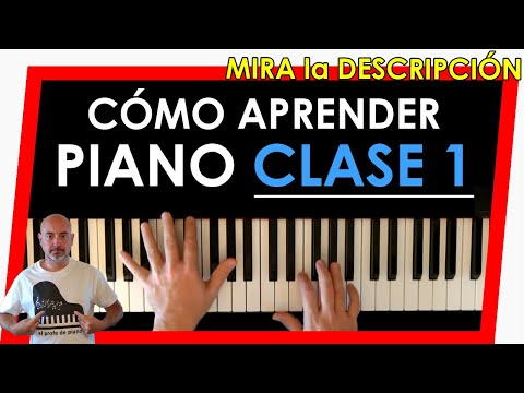 How to play piano - Learn to play piano - Class 1