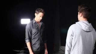 Emmanuel Moire - Venir Voir, le making of du clip