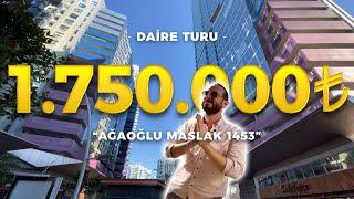Maslak 1453'te Daire Turu   Ağaoğlu Rezidans   Vlog #4
