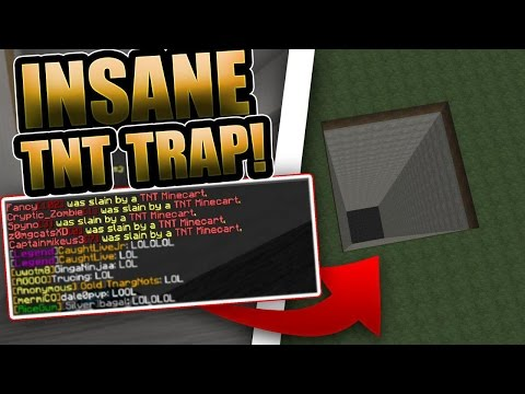 FACTION GOES RAIDABLE TO OP TNT TRAPPING!!! Minecraft Factions (Arcane) #9