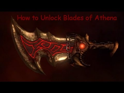 God Of War 3 How To Unlock Blades Athena