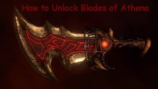 God of War 3 How to Unlock Blades of Athena