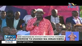 Mbunge Junet ajitokeza na kofia ya Didmus Barasa iliyopotea Kibra