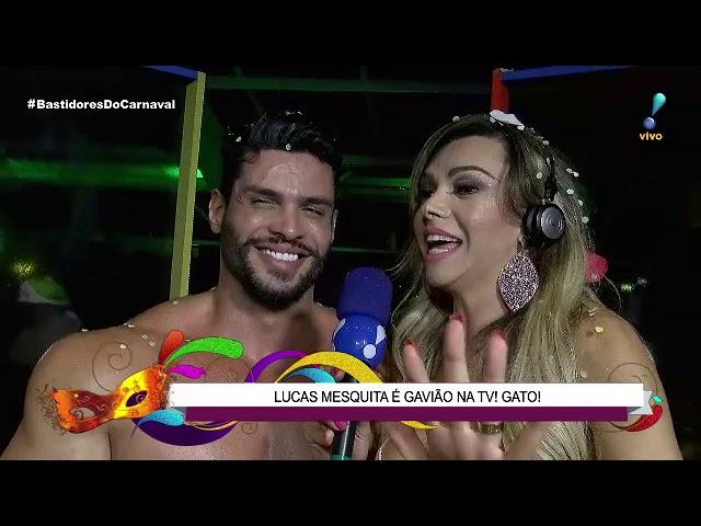 Musa da Gaviões se joga no colo de Lucas 'Gavião' e beija Marcos Härter