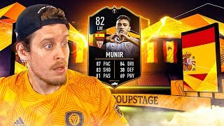 SHOULD YOU DO IT?! 82 UEL TOTGS MUNIR PLAYER REVIEW! FIFA 20 Ultimate Team