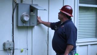 How to Replace Siding Around Existing Electrical Panels : Electrical Installations & Repairs