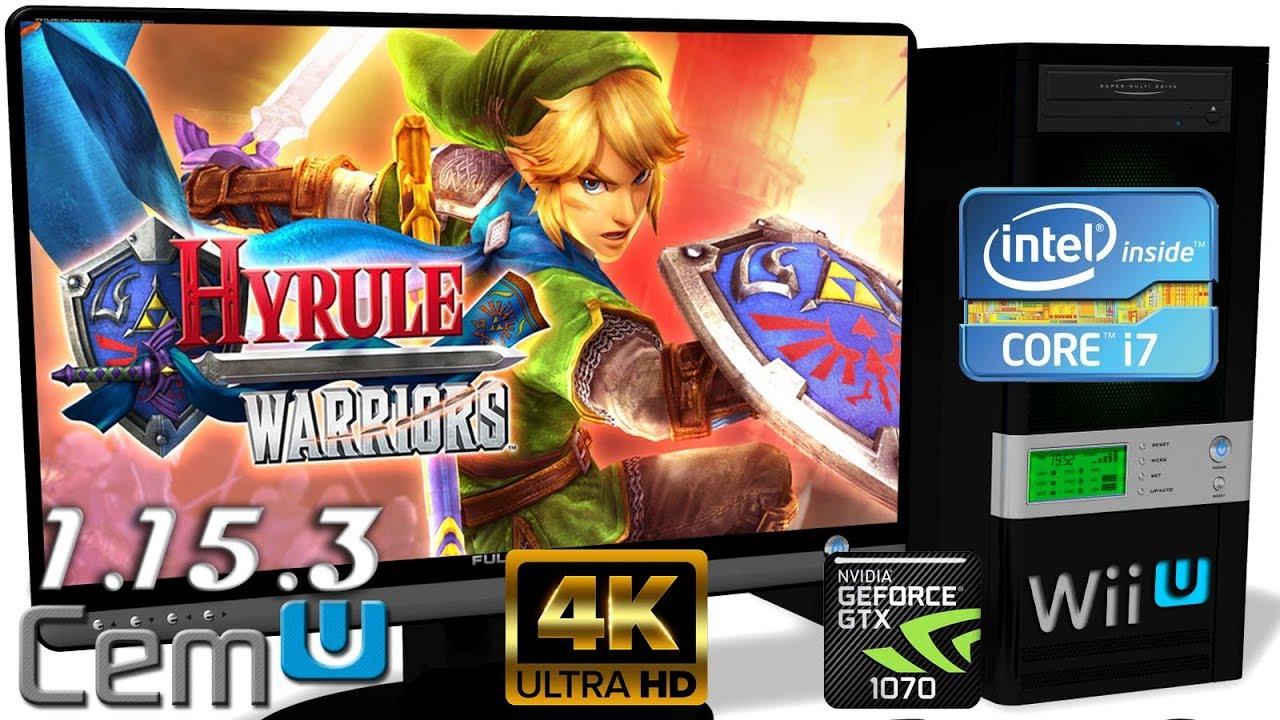 Cemu 1 15 3 Wii U Hyrule Warriors 4k Gameplay Opengl 6 Youtube