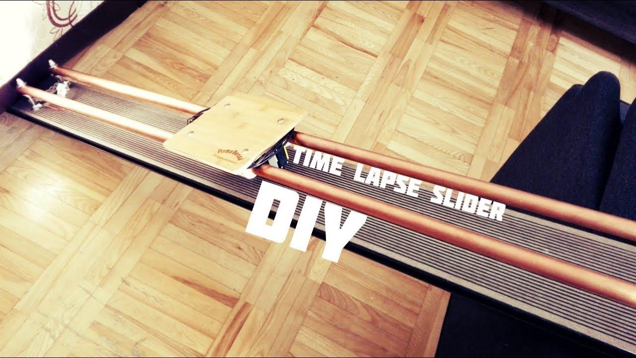 DIY Time Lapse Slider - YouTube