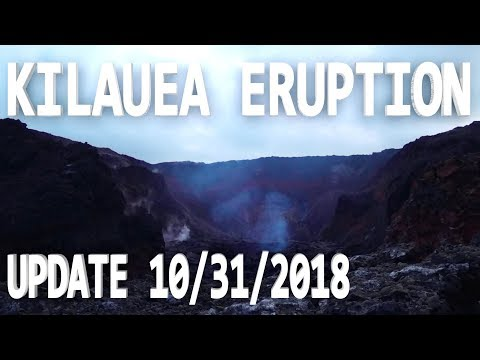 NEWS UPDATE Hawaii Kilauea Volcano Eruption Lava Report for 10/31/2018
