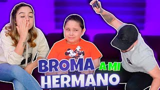 Broma cruel a mi hermano | Le regalo IPHONE 11