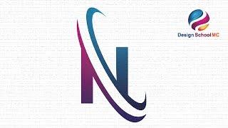 illustrator tutorial-logo-design für Anfänger - erstellen Buchstabe